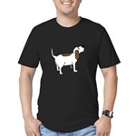 Hound Dog Men's Fitted T-Shirt (dark)