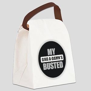 Damn Canvas Lunch Bag