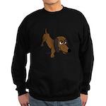 Dachshund Sweatshirt (dark)