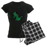 Zombie Dog Women's Dark Pajamas