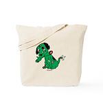 Zombie Dog Tote Bag