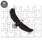 Bald Eagle Soaring Puzzle