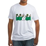 Duck Row Fitted T-Shirt
