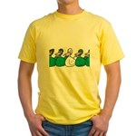 Duck Row Yellow T-Shirt