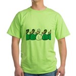 Duck Row Green T-Shirt