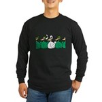 Duck Row Long Sleeve Dark T-Shirt