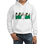 Duck Row Hooded Sweatshirt