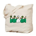 Duck Row Tote Bag