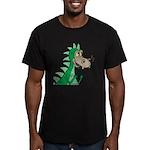 Dragon Men's Fitted T-Shirt (dark)