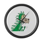 Dragon Large Wall Clock