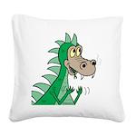 Dragon Square Canvas Pillow