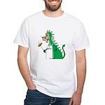 Dragon Grilling White T-Shirt