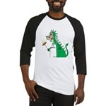Dragon Grilling Baseball Jersey