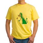 Dragon Grilling Yellow T-Shirt