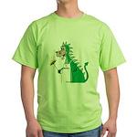 Dragon Grilling Green T-Shirt