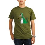Dragon Grilling Organic Men's T-Shirt (dark)