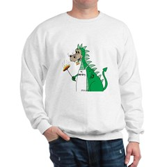Dragon Grilling Sweatshirt