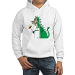 Dragon Grilling Hooded Sweatshirt