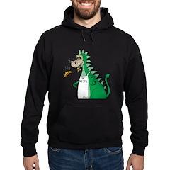 Dragon Grilling Hoodie (dark)