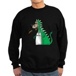 Dragon Grilling Sweatshirt (dark)