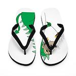 Dragon Grilling Flip Flops
