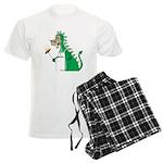 Dragon Grilling Men's Light Pajamas