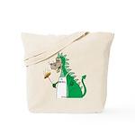 Dragon Grilling Tote Bag