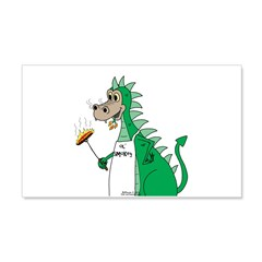 Dragon Grilling Wall Decal