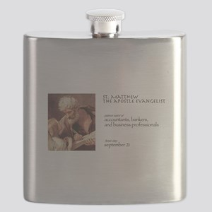 st. matthew, patron saint of finance Flask
