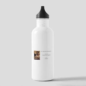 st. luke the evangelis Stainless Water Bottle 1.0L