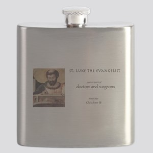 st. luke the evangelist, patron saint of doc Flask