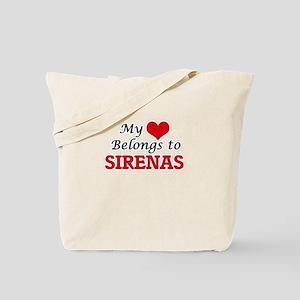 My Heart Belongs to Sirenas Tote Bag