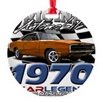 1970 Charger Round Ornament