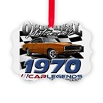 1970 Charger Picture Ornament