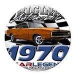 1970 Charger Round Car Magnet