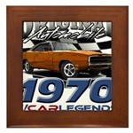 1970 Charger Framed Tile