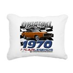 1970 Charger Rectangular Canvas Pillow