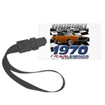 1970 Charger Large Luggage Tag