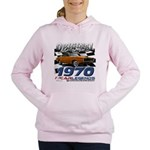 1970 Charger Women's Hooded Sweatshirt