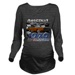 1970 Charger Long Sleeve Maternity T-Shirt