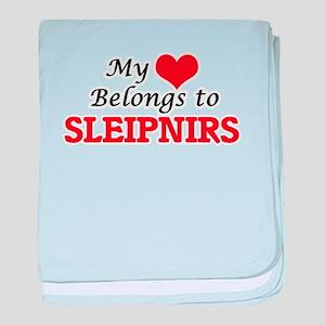 My Heart Belongs to Sleipnirs baby blanket