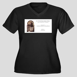 st. thomas aquinas, patron saint Plus Size T-Shirt