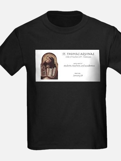 st. thomas aquinas, patron saint of teache T-Shirt