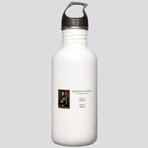 st. ignatius of loyola Stainless Water Bottle 1.0L