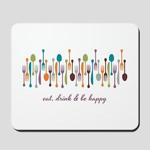 Eat Drink Mousepad