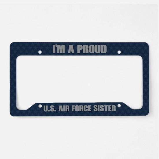 U.S. Air Force Sister License Plate Holder