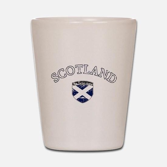 Scottish Football design Shot Glass