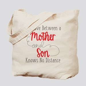 The Love Between A Mother and Son Tote Bag