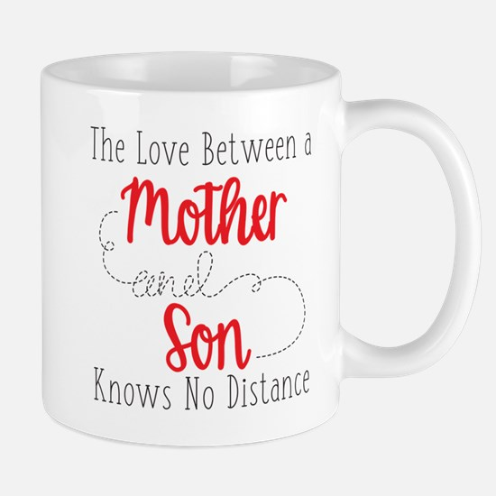 The Love Between A Mother and Son Mug