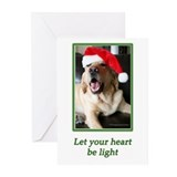 Labrador retriever christmas Greeting Cards (20 Pack)
